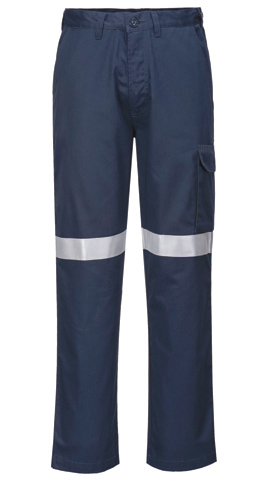 Trouser - Flame Resistant Portwest ModaFlame FR05 Inherent ARC 2 280gsm c/w FR Tape Navy - 117R