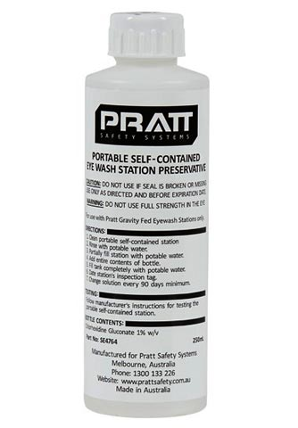 Eye Wash Preservative - Pratt Antimicrobial Water Additive Solution - 250ml Bottle