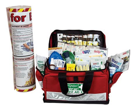 First Aid Kit - National Workplace Burns Trafalgar Large Portable Soft Case 500 x 300 x 300mm