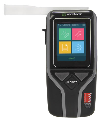 Breathalyser - Workplace Andatech Prodigy S c/w 100 Mouthpieces (Combo)