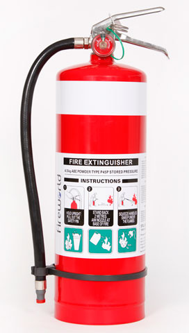 Fire Extinguisher - Fireworld Dry Chemical 4.5kg - ABE