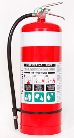 Fire Extinguisher - Fireworld Dry Chemical 9.0kg - ABE