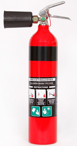 Fire Extinguisher - Fireworld CO2 2.0kg - BE