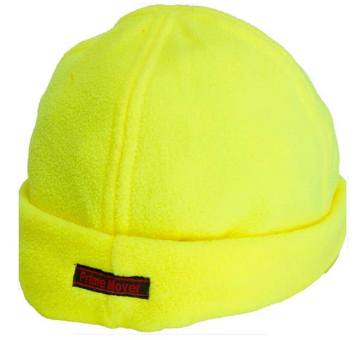 Beanie - Prime Mover Polar Fleece MC602 100% Polyester Yellow - 2XL/3XL