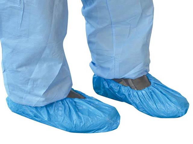 Shoe Cover - Disposable CPE Pro-Val CPESHOE Gloshie - Blue