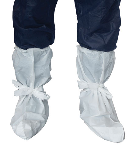 Boot Cover - Disposable CPE Pro-Val 50506 Waterproof Indoor Use - White