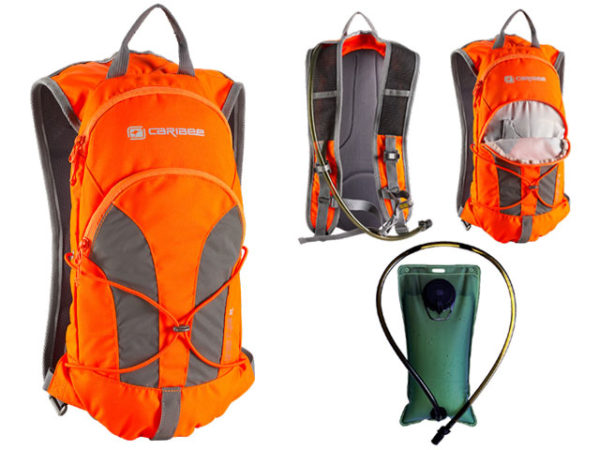 Back Pack - Hydration Caribee Stinger 2L - HI VIS Orange