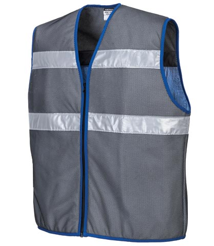 Vest - Body Cooling Portwest CV01 Evaporative PVA padding Zip Front - Grey