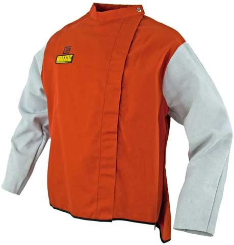 Jacket - Welders Proban 'Wakatac' Lightweight 762mm Length c/w Leather Sleeves - 2XL