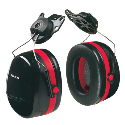 Earmuff - Cap Attach Peltor H10P3G Black (CL 5 - 33dB)