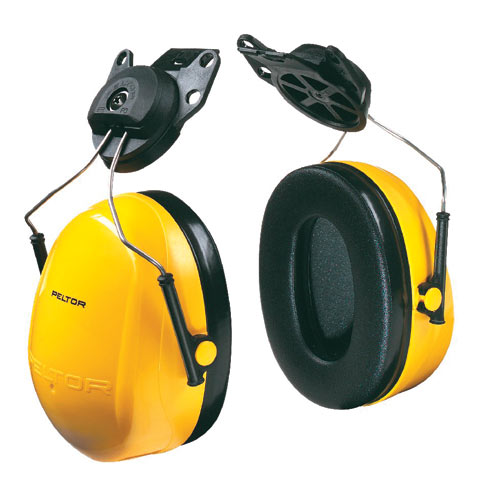 Earmuff - Cap Attach 3M Peltor H9P3G Yellow (CL4 - 24dB))