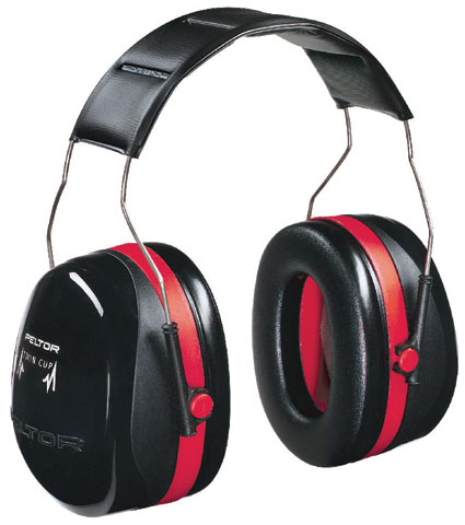 Earmuff - Headband Peltor H10A  Black (CL 5 - 33dB)