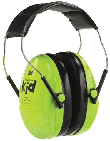 Earmuff - Headband 3M Peltor Kid's H510 - Green