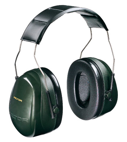 Earmuff - Headband Peltor H7A Green (CL 5 - 30dB)