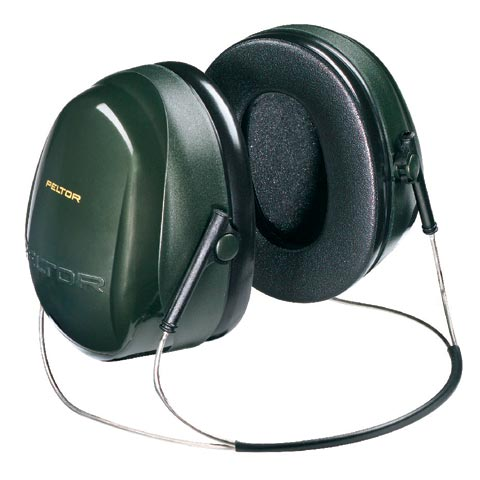 Earmuff - Neckband 3M Peltor Optime II H520B Green (CL5 - 27dB)