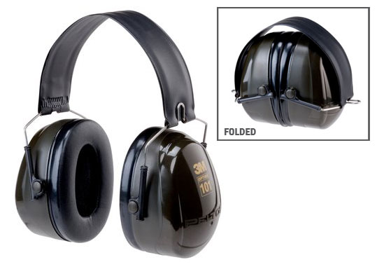 Earmuff - Folding Peltor H7F Green (CL 5 - 31dB)