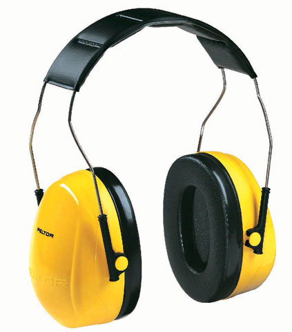 Earmuff - Headband Peltor H9A Yellow (CL 4 - 24dB)