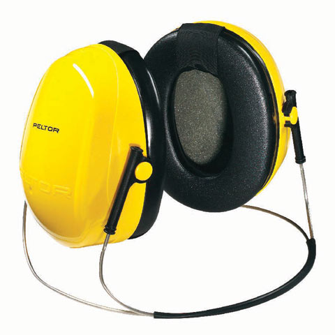 Earmuff - Neckband 3M Peltor Optime I H510B Yellow (CL4 - 25dB)