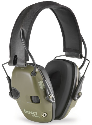 Earmuff - Headband Howard Leight Impact Sport (CL 4 - 24dB) - Green