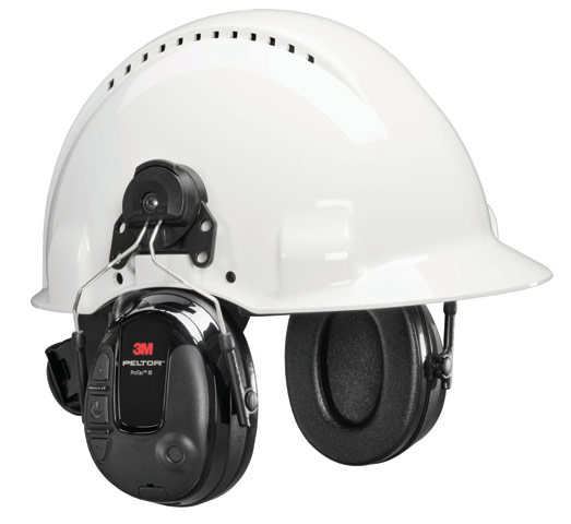 Earmuff - Cap Attachable 3M Peltor ProTac III Standard Level Dependent MT13H221P3E Headset (CL5 - 30dB)