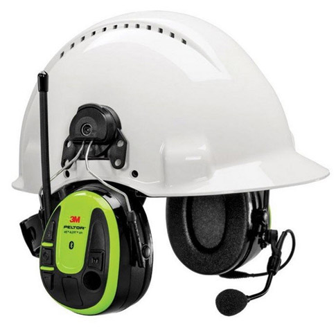 Earmuff - Cap Attachable 3M Peltor WS ALERT XPI Bluetooth/FM Radio MRX21P3EWS6-AZ Headset (CL5 - 30dB)