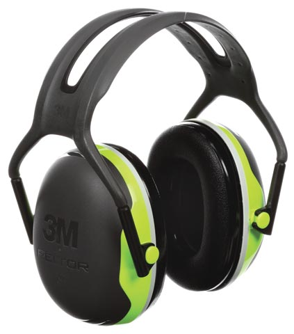 Earmuff - Headband 3M Peltor X4A Green/Black (CL5 - 31dB)