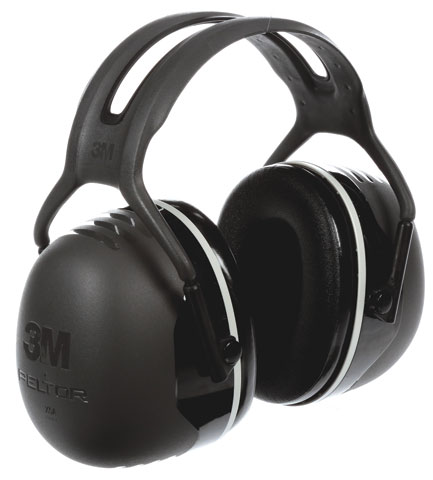 Earmuff - Headband Peltor X5A Black (CL5 - 35dB)