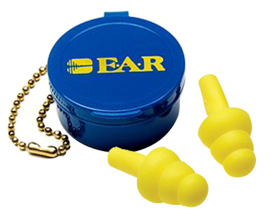 Earplug - Reusable 3M EAR UltraFit Push In 340-4001 c/w Carry Case (CL 3 - 19dB)