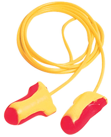 Earplug - Disposable Howard Leight LaserLite (CL4 - 25dB) - Corded Pink/Yellow (BX/100pr)