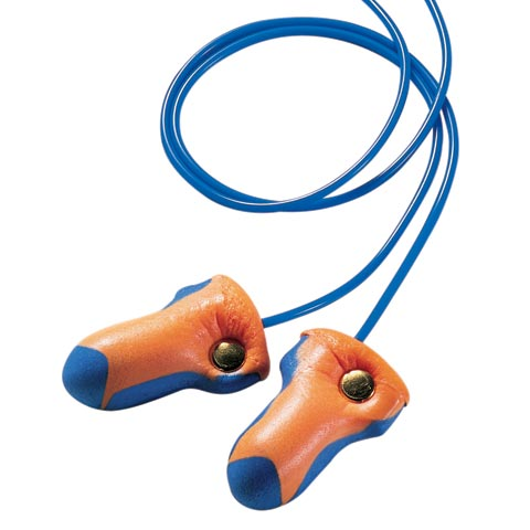 Earplug - Disposable Howard Leight LaserTrak (CL4  -25dB) - Detectable Corded (BX/100pr)