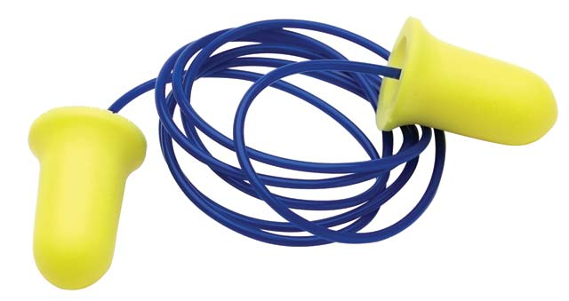 Earplug - Disposable ProChoice ProBell PU Foam Corded (CL 5 -27dB)