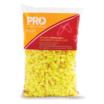 Earplug - Disposable ProChoice ProBell PU Dispenser Refill (CL 5 - 27dB)