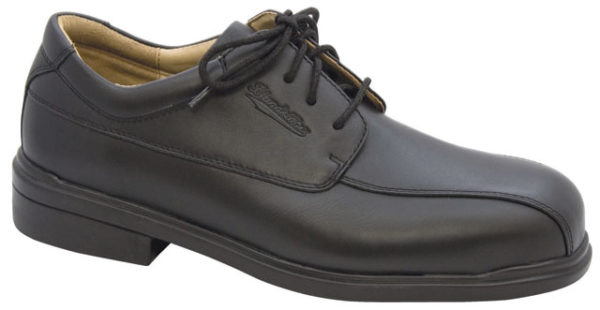 Shoe - Lace Up Safety Executive Blundstone Full Grain Leather TPU/Rubber Sole Black - 13