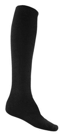 Sock - Bamboo Long Extra Thick Black - 14/18