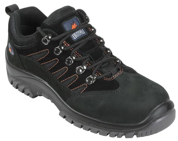 Shoe - Safety Mongrel Lace Up Sports Hiker TPU/PU Sole Black