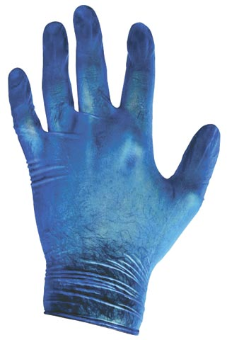 Glove - Vinyl Disposable ProChoice Lightly Powdered Blue - XL