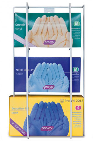 Dispenser - Disposable Gloves Pro-Val Triple Box