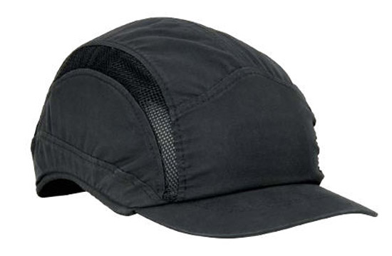 Bump Cap - Microfibre 3M HC23 First Base 3 Classic c/w Reduced Peak - Black