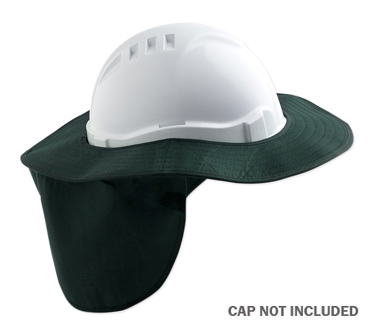 Brim - Cap Style Poly/Cotton ProChoice Sun Shade c/w Neck Flap