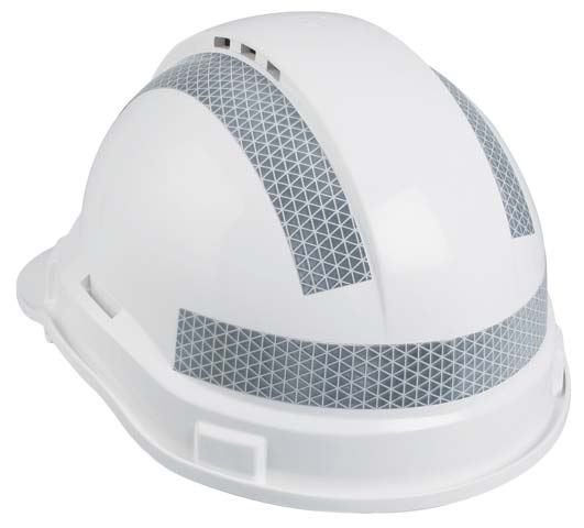 Tape - Reflective Kit 25mm For 3M Hard Hats 3 Strips (2 curved & 1 straight) - Silver