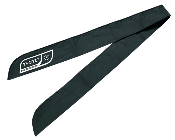 Neck Tie - Thorzt Evaporative Cooling - Black
