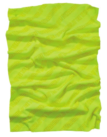 Multi Band - Headwear Ergodyne 6485 Sun Protection - HI VIS Lime