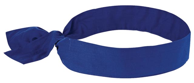 Wrap Tie - Cooling Ergodyne 6700 Evaporative - Blue