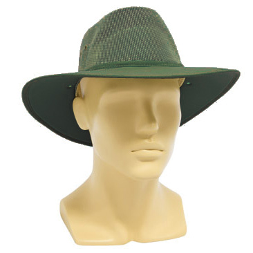 Hat - Nullarbor Breeze Mesh Gusset & Cotton Drill Brim