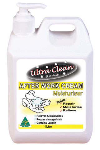 Moisturising Cream - Ultra Clean Hands After Work - 1L Pump