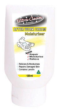 Moisturising Cream - Ultra Clean Hands After Work- 125ml Tube