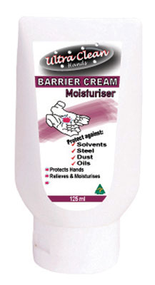 Barrier Cream - Ultra Clean Hands Water Repellent - 125gm Tube
