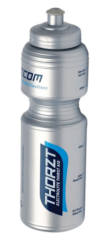 Bottle - Thorzt Sports Drink 800ml - Silver
