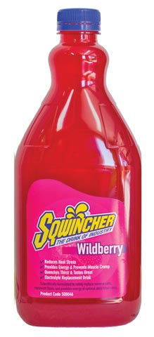 Electrolyte Drink - Sqwincher Liquid Concentrate 2L (makes 20L) - Wild Berry