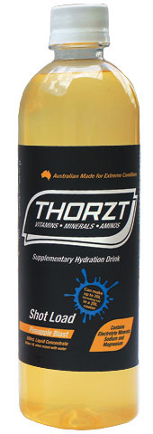 Electrolyte Drink - Thorzt Low GI Shot Load Liquid Concentrate 600ml Bottle (makes 10L) - Pineapple